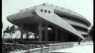 شاهد .. فيديو نادر لافتتاح شاطىء المعمورة عام 1960