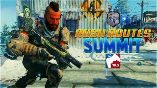 BEST BO4 SnD Rush Routes on SUMMIT! (Black Ops 4 Search and Destroy)