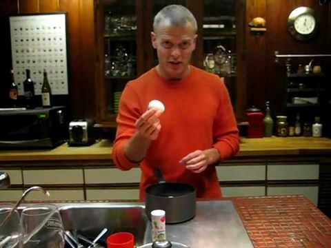 Timothy Ferriss How to Peel Hard boiled Eggs w o Peeling - YouTube