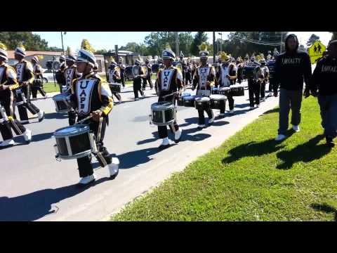 UAPB - M4 Marching to Golden Lion Stadium pt. 1