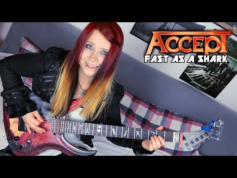 ACCEPT  Fast As A Shark GUITAR  with SOLO  Jassy J