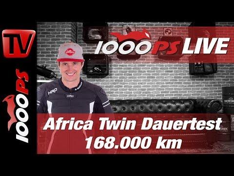 1000PS Live - Africa Twin Dauertest - Varahannes - 168.000 km