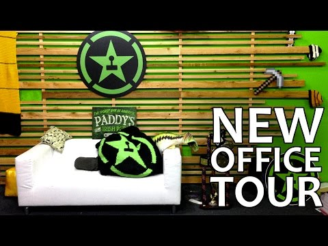 Achievement Hunter New Office Tour