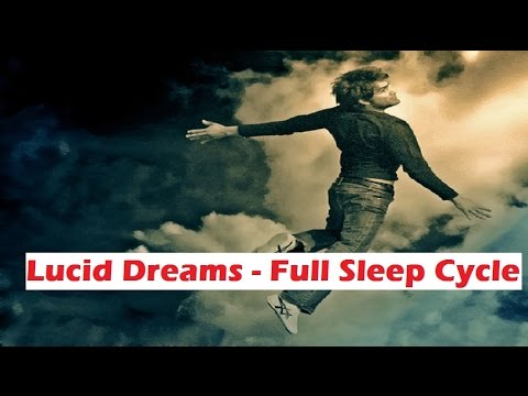 Lucid Dreaming Induction- Stages Of Sleep, REM Sleep | Binaural Beats Isochronic subliminal messages