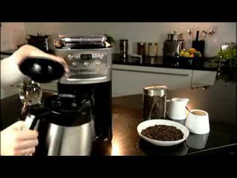 Cuisinart Grind Brew Automatic Coffee Machine DGB600 YouTube
