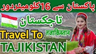 Travel to Tajikistan History About Tajikistan in Urdu/Hindi Travel Vlog تاجکستان کی سیر  T&T