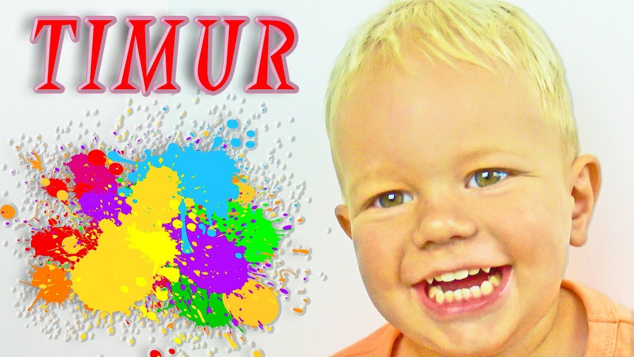 ✅Collection of Kids games  🦆Timur playing in funny games for Babys🎣🎣