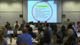PANEL DISCUSSION: New Policy Directions and Implications