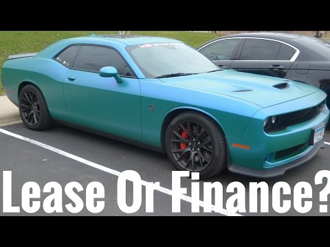 Should You Lease Or Finance A Hellcat ??