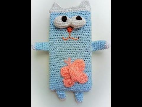 Чехол кот чехол для телефона крючком