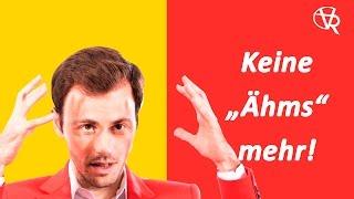 """Gambar cover Rhetorik-Seminar (12): Keine """"Ähms"""" mehr beim Reden!"""