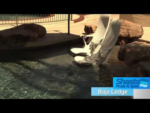 Arizona Pools and Spas Design | Baja Ledges or Baja Shelf | Call Now (602) 532-3800