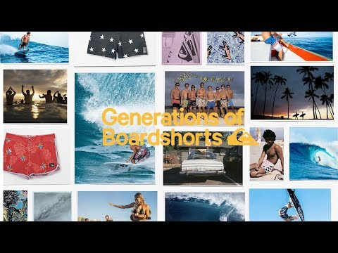 Generations of Boardshorts
