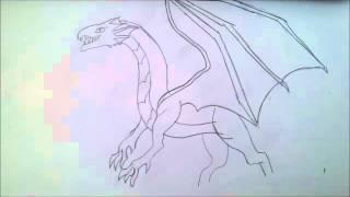 как рисовать дракона(תיאור., 2015-12-04T12:17:46.000Z)