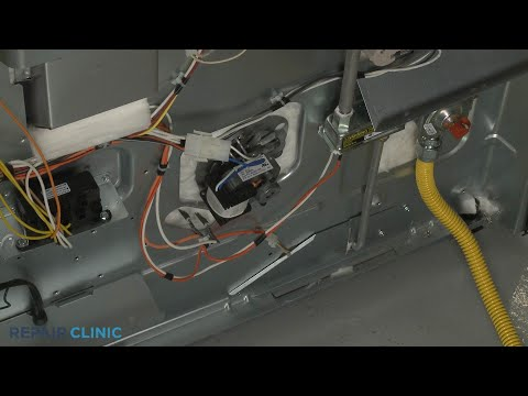 Convection Fan Motor Insulation - Kitchenaid Double Oven Gas Range (Model #KFGD500ESS04)