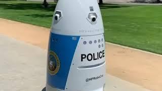 加州首次推出机器人警察 360度摄像即时监控