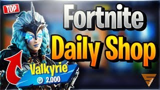 Fortnite Daily Shop *TOP* VALKYRIE SKIN (11 December 2018)