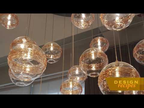 Design Recipes Pix11: Shakuff Custom Glass Lighting and Decor - Showroom Tour