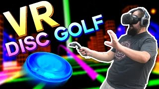 pizza toss   vr disc golf