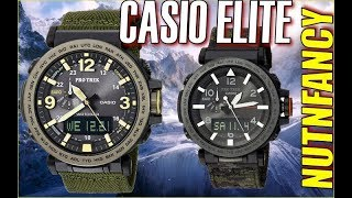 Most Impressive Outdoor Watch:  The JDM Casio PRG600