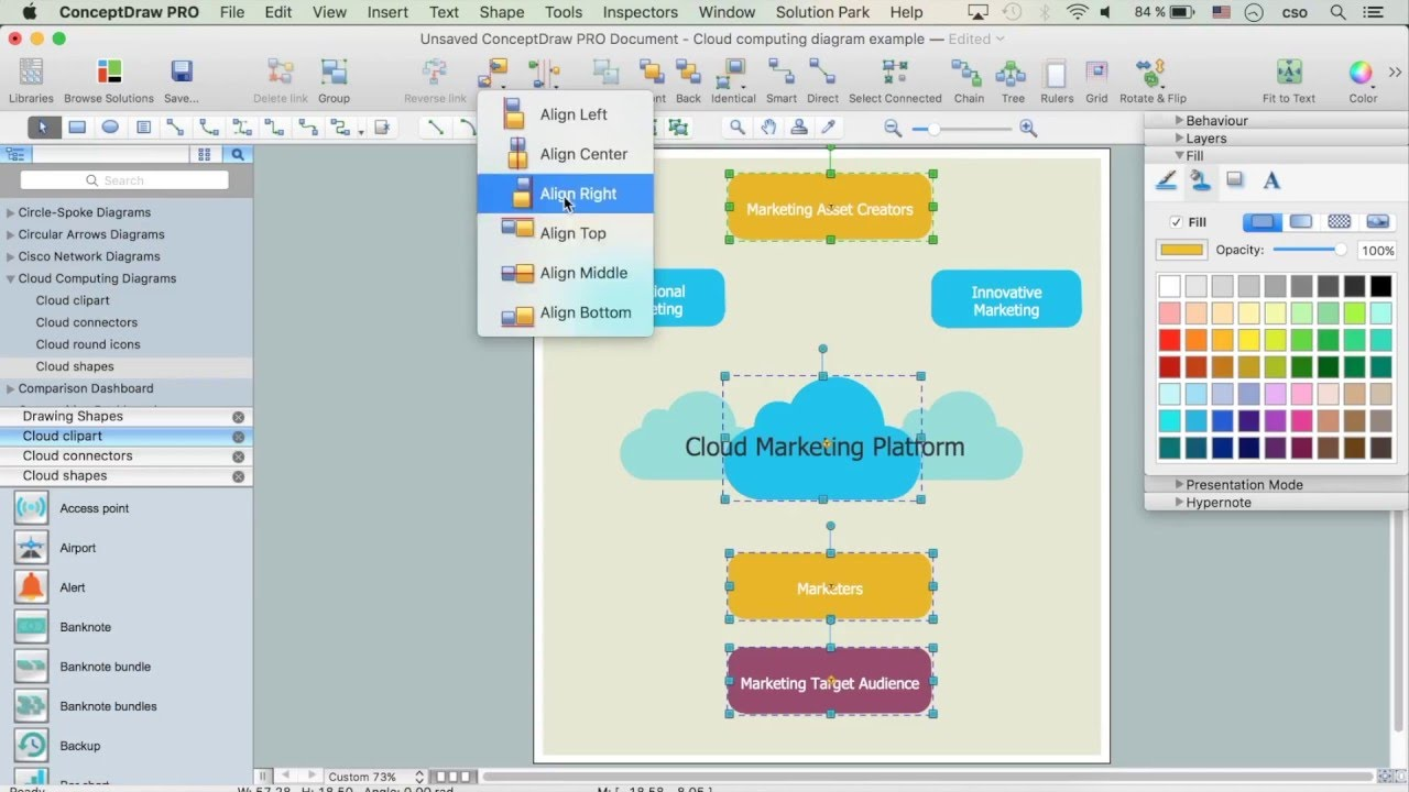 How to Build Cloud Computing Diagram - YouTube