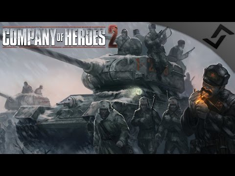 Russian Winter Charge - Company of Heroes 2 Spearhead Realism Mod