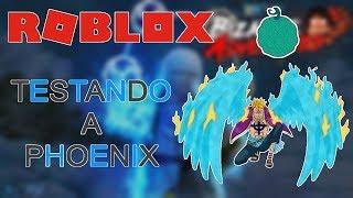 Testare il frutto Phoenix (è brava?) - Roblox One Piece Bizarre Adventures 🎮