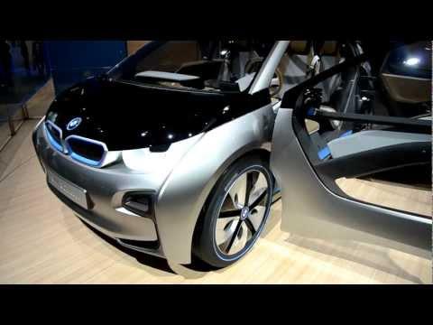 BMW i3 Concept at 2012 Paris Motor Show