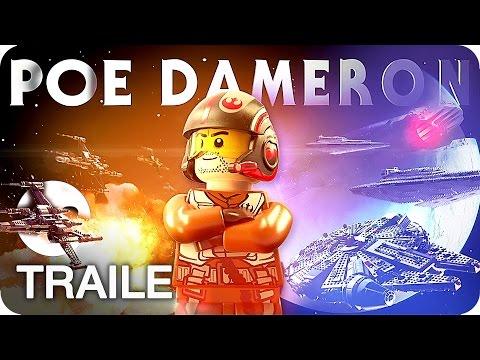 LEGO STAR WARS: DAS ERWACHEN DER MACHT Poe Dameron Trailer German Deutsch 2016
