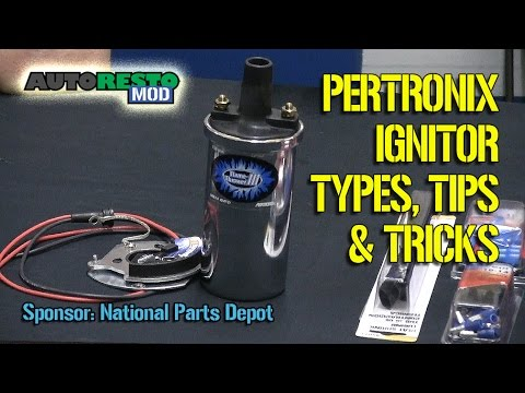 How To Install a Pertronix Ignitor Ignition System Classic Car