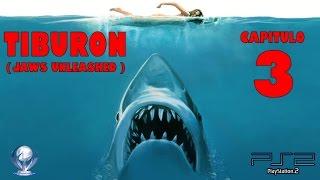 Tiburon (Jaws Unleashed, Gameplay en Español, Ps2) Capitulo 3 thumbnail