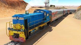 Train Simulator 3D - Game Simulasi Kereta Api (Level 8-9) (Android Game)