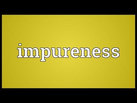 Header of impureness