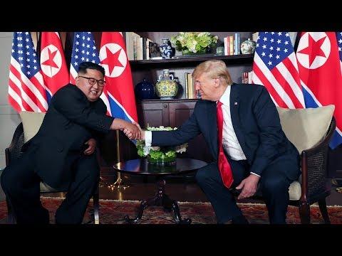 Trump, Kim sign 'very important' document