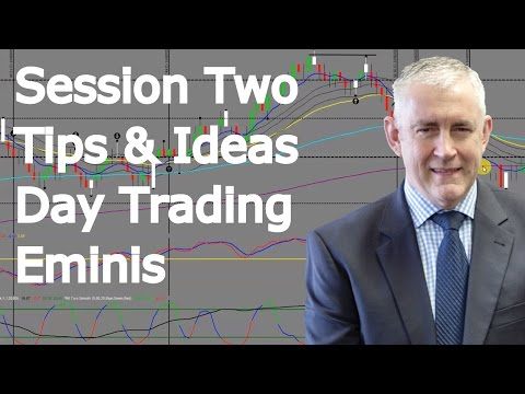 Day Trading Eminis. Tips And Ideas.  Session Two