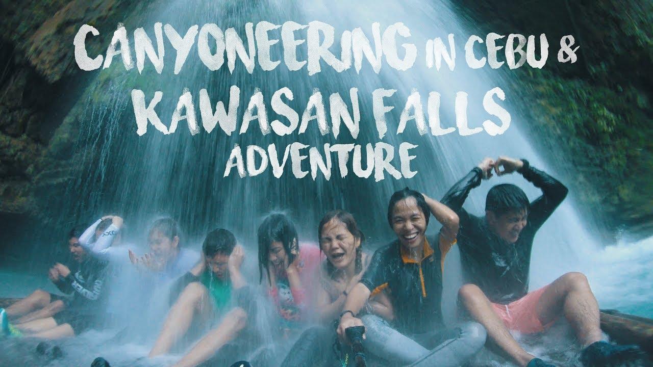 Canyoneering in Cebu + Kawasan Falls Adventure