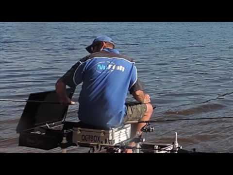 feeder fishing with braid at underbank