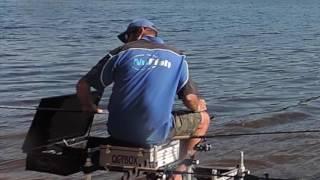 feeder fishing with braid at underbank
