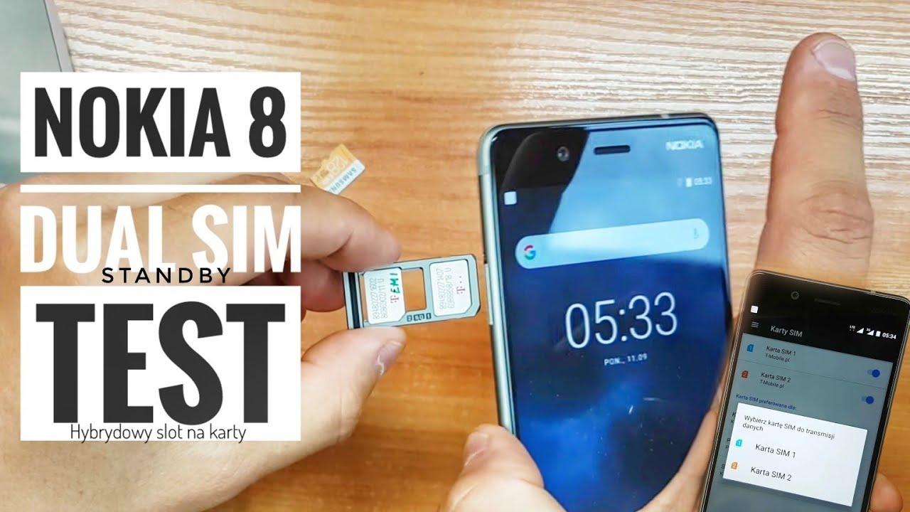 Nokia 8 | Dual SIM Standby TEST | ForumWiedzy.pl Bogdan ...