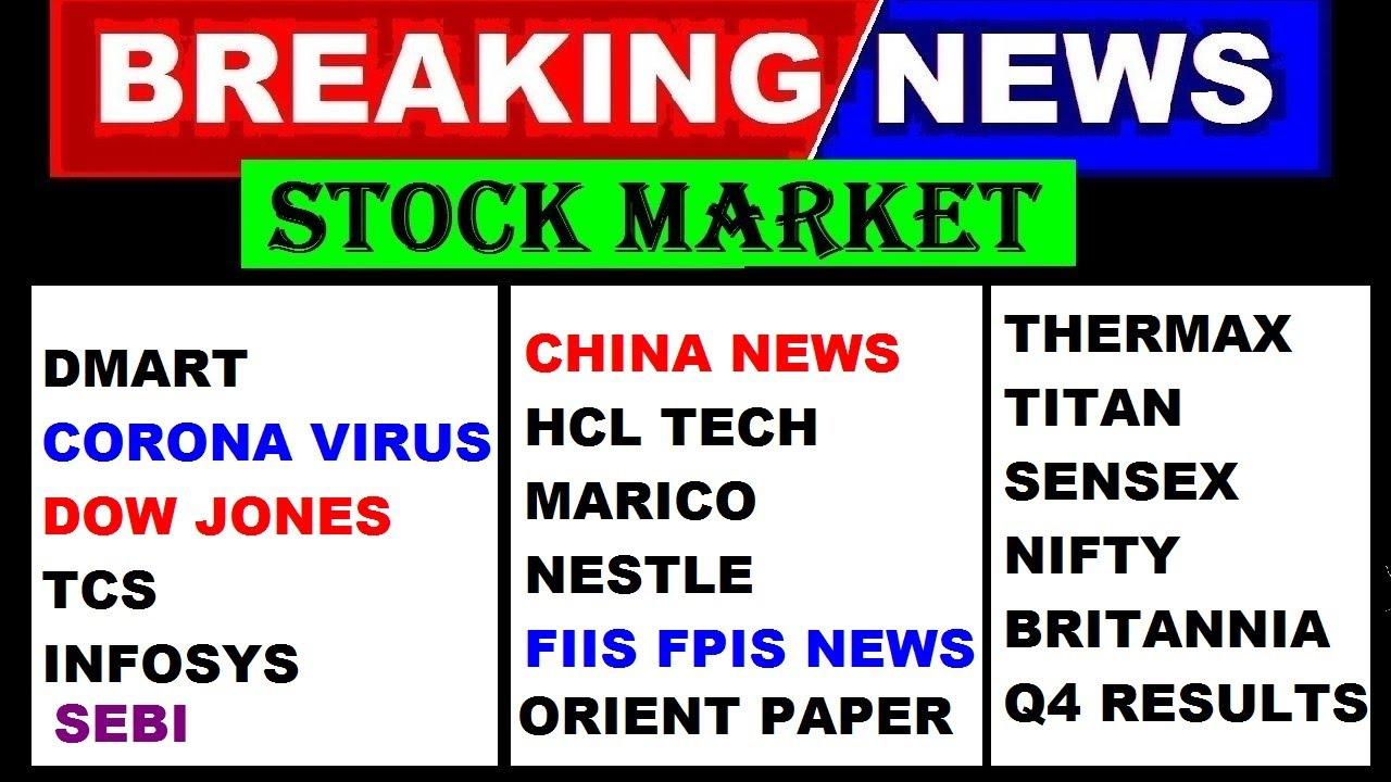 Dmart Marico Britannia Dow Jones Tcs Infy Sebi China Nestle Titan Nifty50 Sensex Q4 Result Youtube