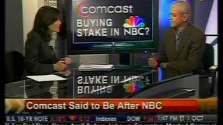 In-Depth Look - Comcast Said to Be After NBC Stake