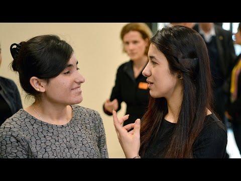 Sakharov Prize 2016: Two Yazidi women tell the world their story