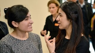 Sakharov Prize 2016: Two Yazidi women tell the world their story