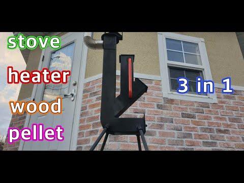 Rocket stove (Pellet,wood).3