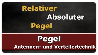Let's Learn Relativer Pegel (dB) / Absoluter Pegel (dBmW)
