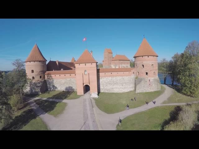 Trailer della città di Vilnius in Lituania, All From Italy La Dolce Vita.