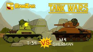 t-34-vs-m4-sherman-tankove-valky-od-ranzaru