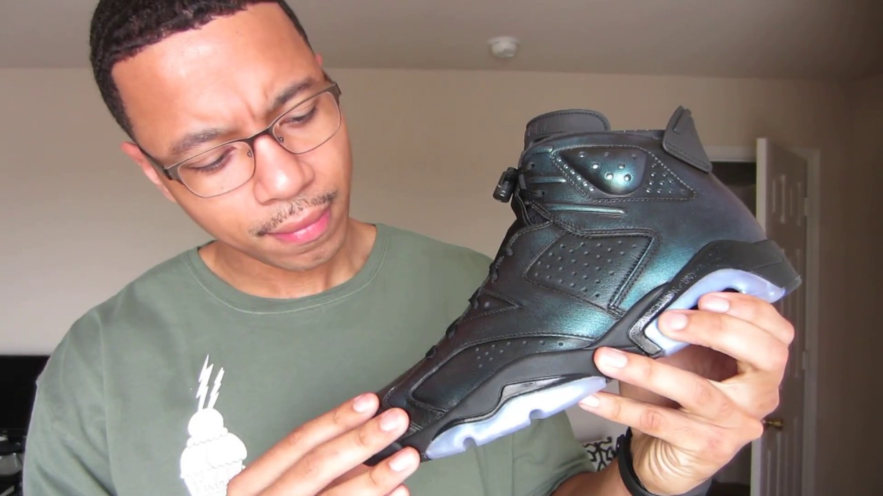 pretty nice 67e5c 00cd3 AIR JORDAN 6 ALL STAR   CHAMELEON EARLY REVIEW - YouTube