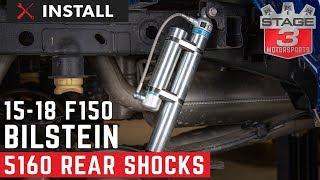 2015-2018 F150 4WD Bilstein 5160 Remote Reservoir Rear Shock Install