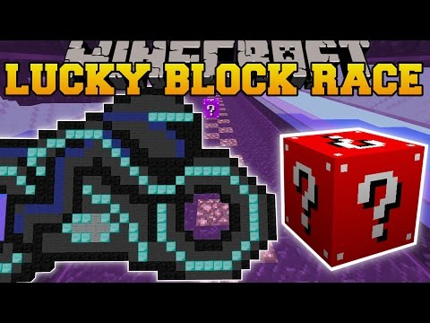 Minecraft: AWESOME ARCADE LUCKY BLOCK RACE - Lucky Block Mod - Modded Mini-Game